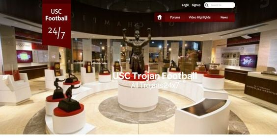 Keep Up To Date With The USC Trojan Football All Trojans News 24x7 ➸ http://www.USC24x7.com