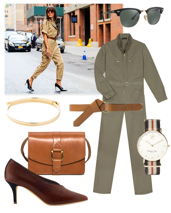 Une look de safari chic