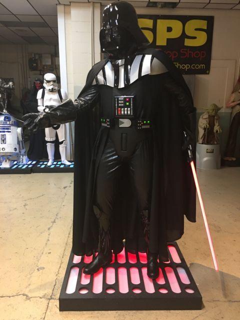 Life Size Star Wars Darth Vader Full Size Prop Statue Starwarshighend Darethvaderlifesize Starwarslifesize Life Size Life Size Statues Darth Vader