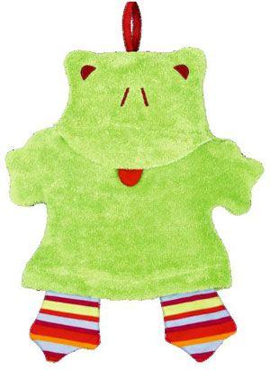 Mein Bio Waschfrosch | Oetinger natur - Babyspielzeug - Kuscheltiere - Fairtrade - ab 0 Monaten