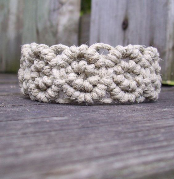 Hemp Bracelet @Makala Cole Cole Cole Portwood could u make this for me
