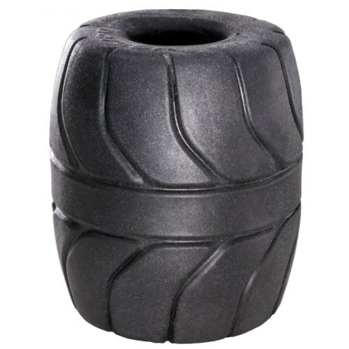Perfect Fit SilaSkin Ball Stretcher Testicle Stretching Ring Black