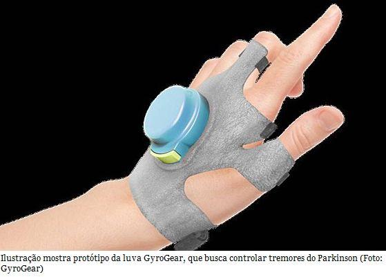 Estudante cria luva especial para controlar tremores de Parkinson