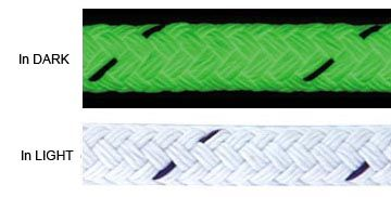 Industrial Strength Glow in the Dark Rope. Available only Glorope.com