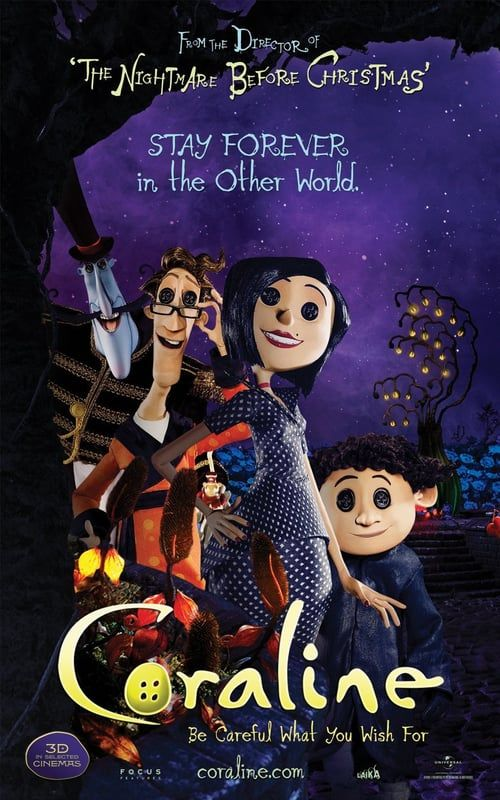 Watch Coraline Full Movie Online Coraline Movie Coraline Watch Coraline