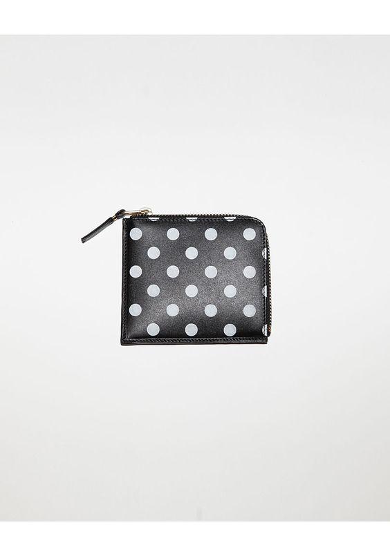 Comme des Garçons / Square Side Zip Wallet