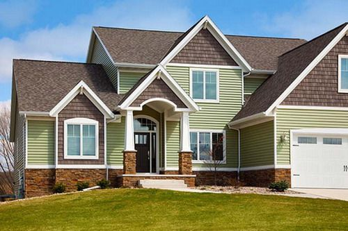 Exterior house color ideas   Luxury house vinyl home siding exterior design    House Color Ideas   Pinterest   Exterior house colors  Luxury houses and  House  exterior house color ideas   Luxury house vinyl home siding  . Siding For Houses Ideas. Home Design Ideas