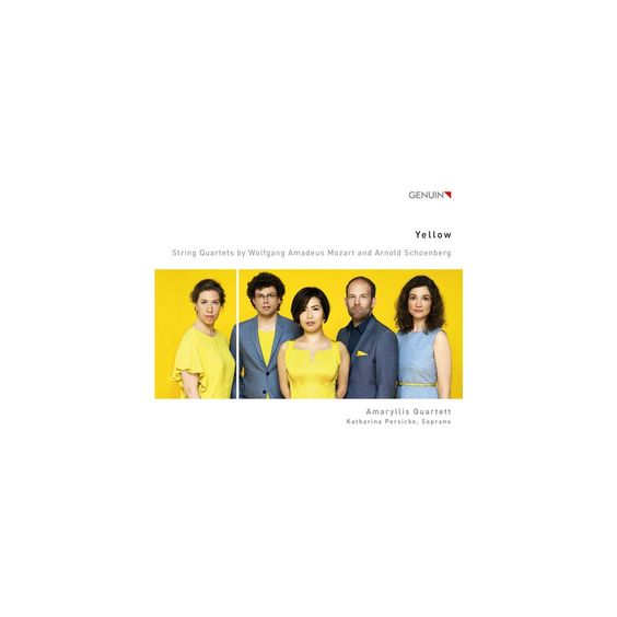 Mozart & Amaryllis Quartett & Persicke - Yellow (CD)