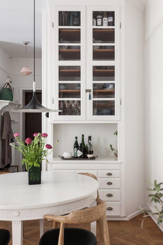 post estantera blanca para cubrir toda una pared del saln ue blog decoracion