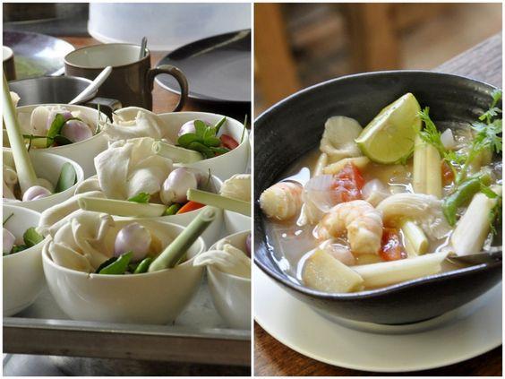 Comment faire une tom yum soup