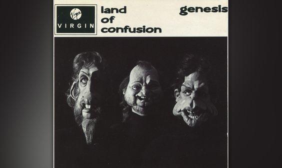 23. Land Of Confusion  Die Eindringlichkeit des marschierenden Stücks wird konterkariert durch das schlecht gealterte Spitti
