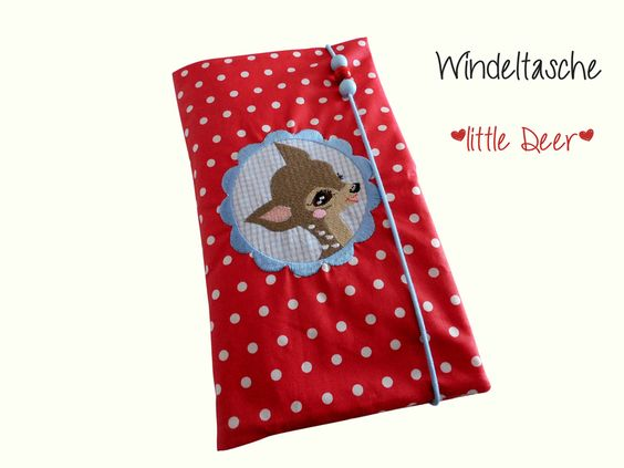 Windeltasche Wickeltasche*little Deer* von Strampelinchen Design auf DaWanda.com