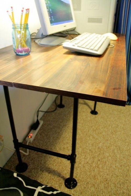 7 Diy Industrial Desks You Can Make Industrial Style Desk