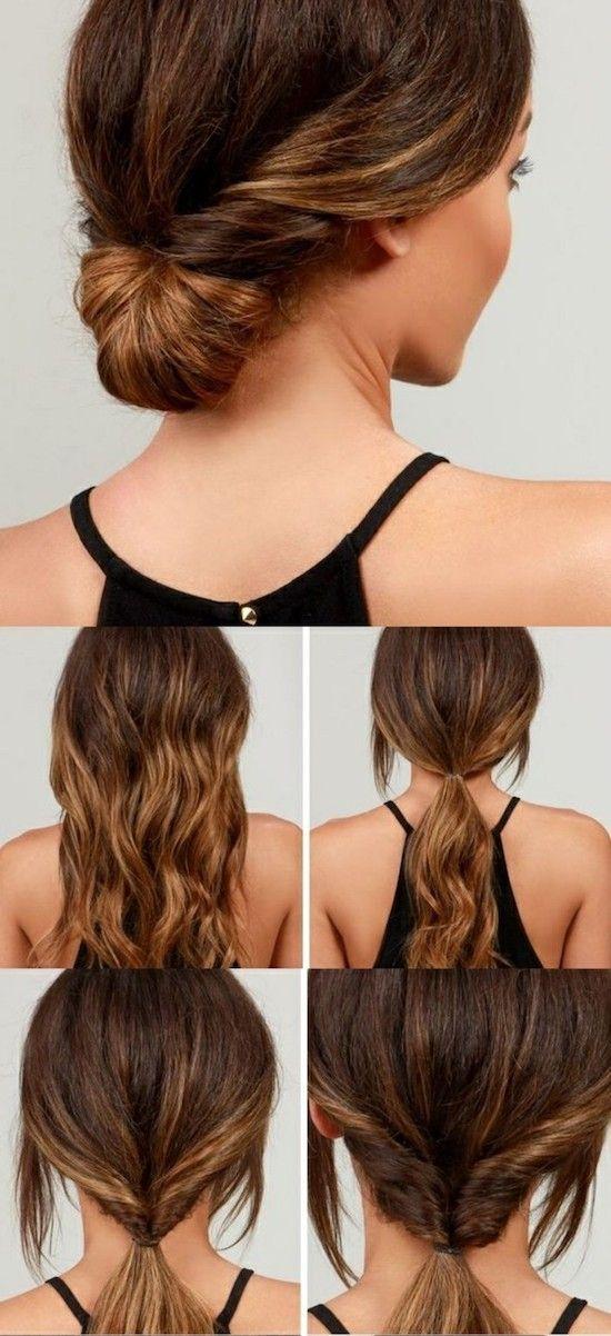 Leichte Frisuren Fur Den Alltag Mittellange Haare Frisuren Einfach Lange Haare Frisuren Langhaar