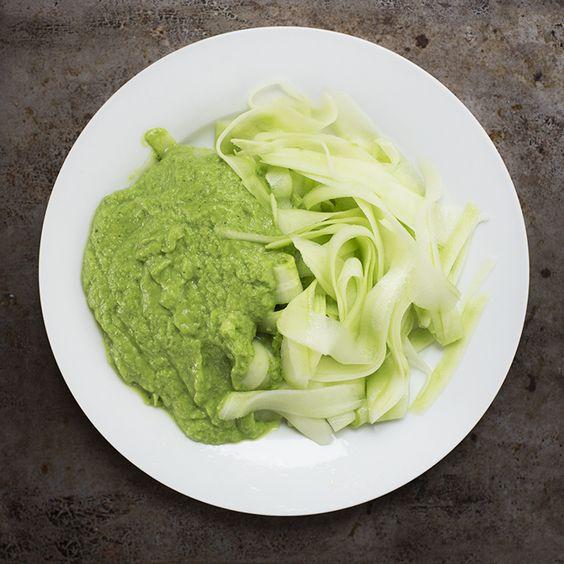 fettuchine salad plate