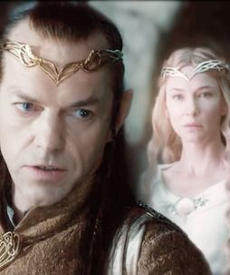 #Elrond of Rivendale, #Galadriel, Lady of Lothlorien (Cate Blanchett in The Hobbit: An Unexpected Journey)