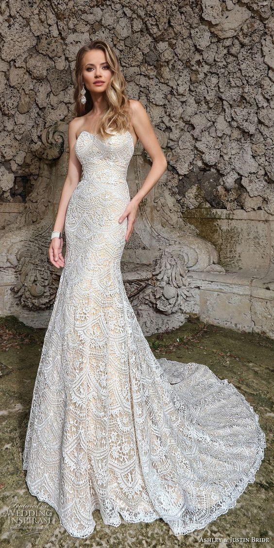 Ashley & Justin Spring 2018 Wedding Dresses
