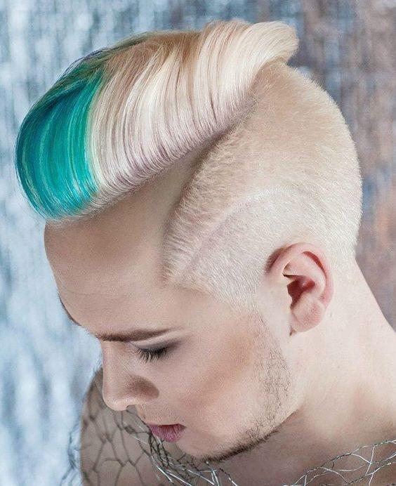 Not your mother's mohawk! Hair by Karol Smentek of Poland. #hotonbeauty hotonbeauty.com
