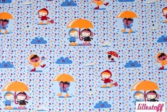 Bio Jersey Lillestoff Rainy Day