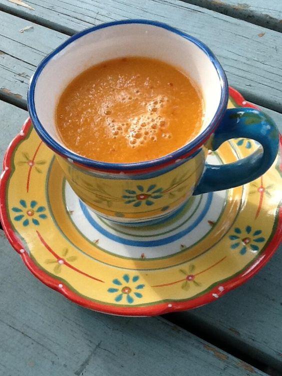 #Honey dew, #apple, #ginger, #carrot #smoothietime #vegetarian #juice Délicieux! #AngéliqueCuisine #foodie