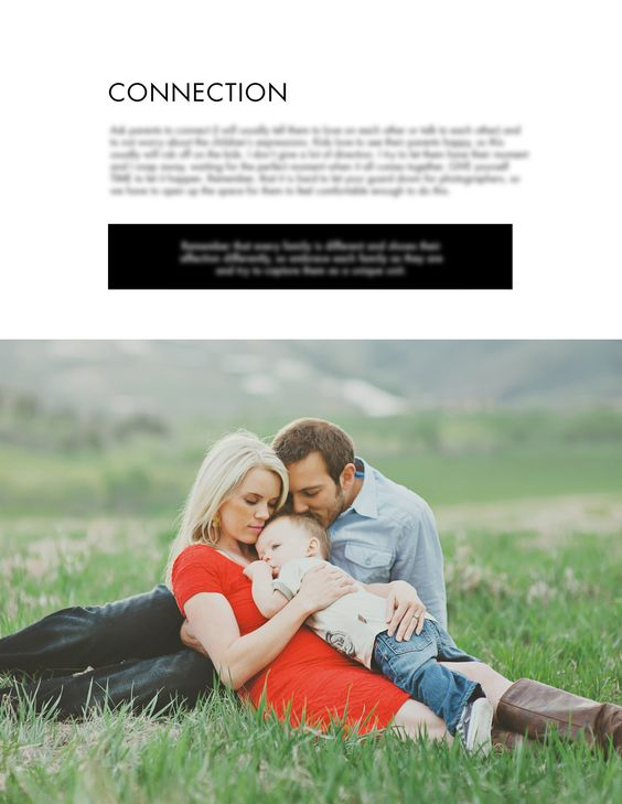 The new and improved Family Posing Guide! Many photographers have asked me how I pose families & how I achieve genuine emotion and connections between them. In the Family Posing Guide I walk you throu