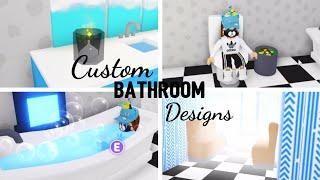 8 Custom Pet Furniture Design Ideas Building Hacks Roblox Adopt Me Part Two Its Sugarcoffee In 2020 Custom Bathroom Designs Custom Pet Furniture Custom Bathroom