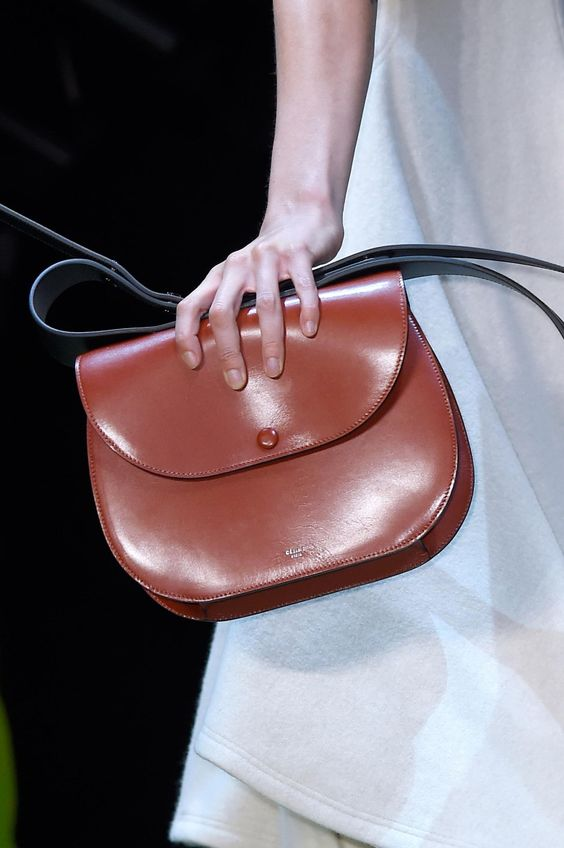 A bag from Céline's fall 2016 show. Photo: Imaxtree.
