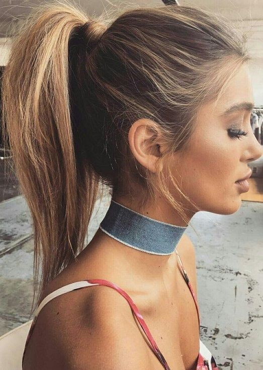 30 Long Ponytail Hairstyle Ideas 2018 Pics Bucket Hair Styles High Ponytail Hairstyles Going Out Hairstyles