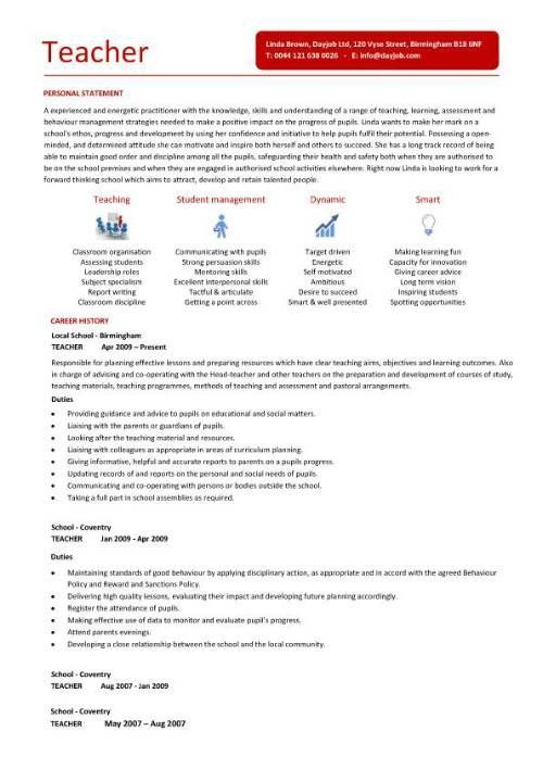 Teacher Professional Resumes Since 1990 Our Resumes Helps