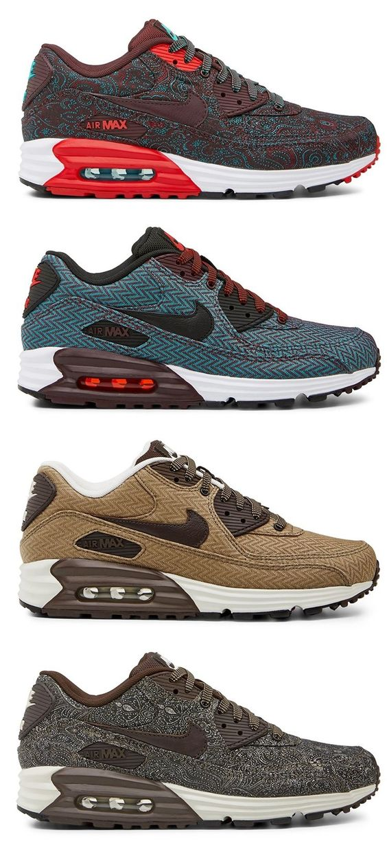 Running shoes \u0026middot; Nike Air Max 90 Lunar - Suit \u0026amp; Tie Edition