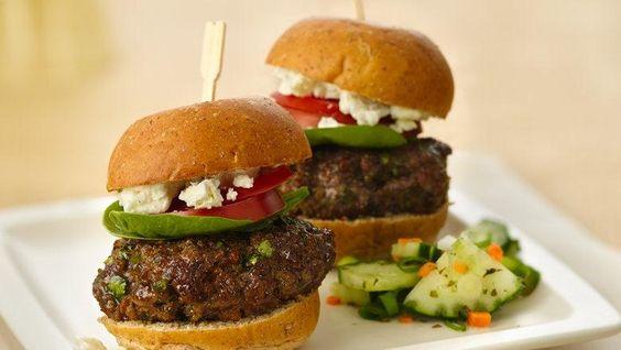 Sliders, Mini burgers and Burgers on Pinterest