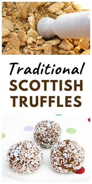 A Traditional Recipe For Scottish Truffles Made With Coconut Digestive Biscuits Drinking Chocolate And Condense Truffle Recipe Easy Coconut Truffles Truffles