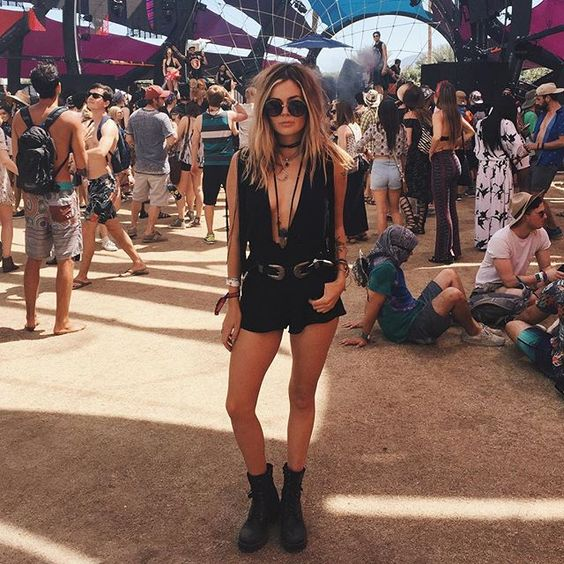 The 34 Sexiest Outfits From the Second Weekend of Coachella: