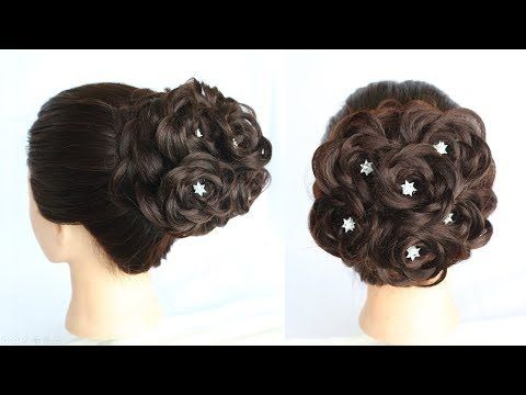Hairstyle For Wedding New Hairstyle Bridal Bun Bun Hairstyle For Party Juda Hairstyle Youtube Hair Styles Bun Hairstyles Hairstyles Juda