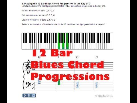 11 Piano Chords Lesson Blues Chord Progressions Httpblog