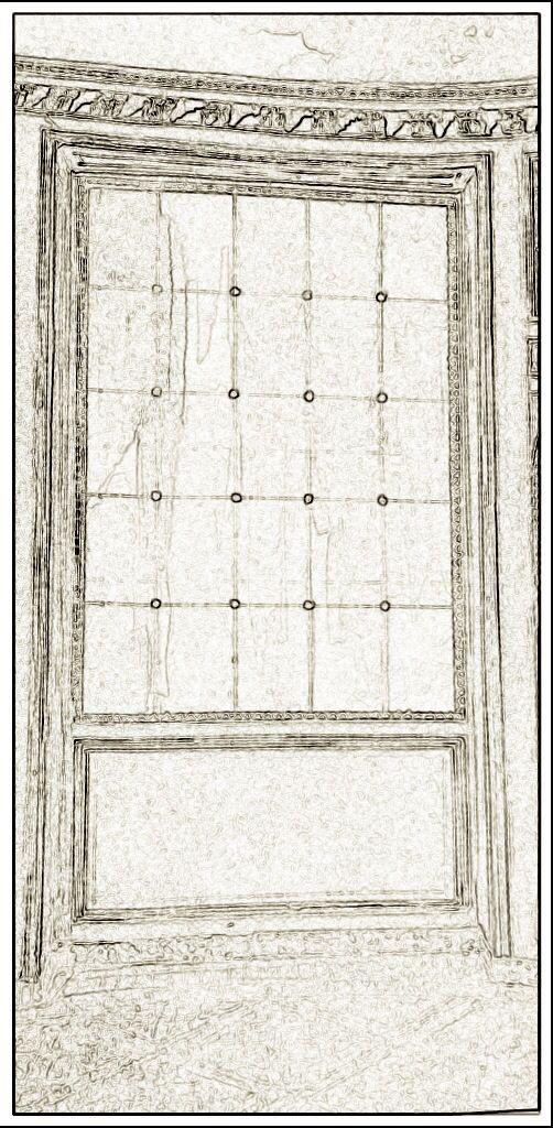 Sketching a mirror.  SL