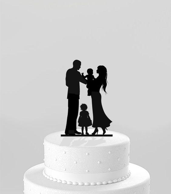 Livré+le+lendemain++Wedding+Cake+Topper+Bride+