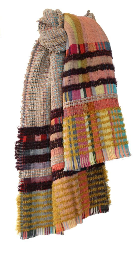 Wool Crepe & Chenille Wraps — Wallace Sewell