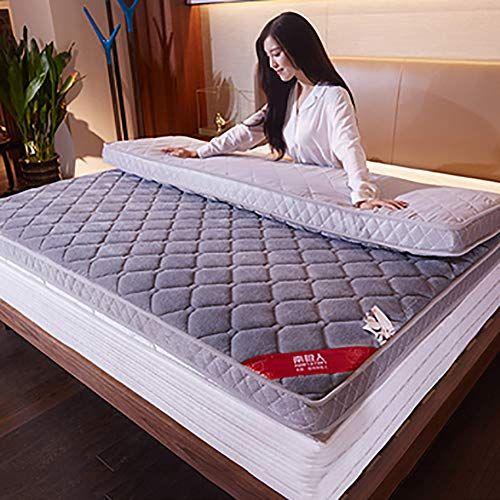 Memory Foam Mattress Thicken Quilted Living Room Bed Roll Flannel Non Slip Soft Comfort Premium Floor Mat Gra Bed In Living Room Mattress Memory Foam Mattress