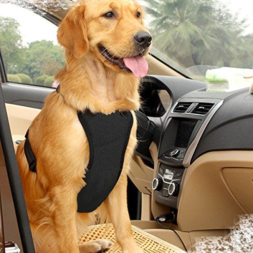 East Bird Dog Safety Vest Harness With Safety Belt For Most Car
