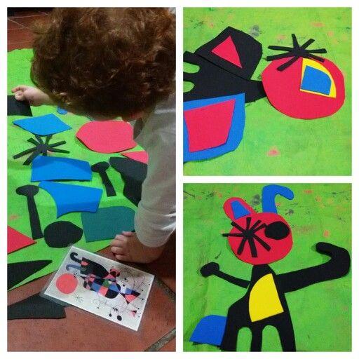 Obra en construcción, escrito para www.emmayrob.com.ar @ArteAndarin @EmmayRob #arte #chicos #juegos #padres
