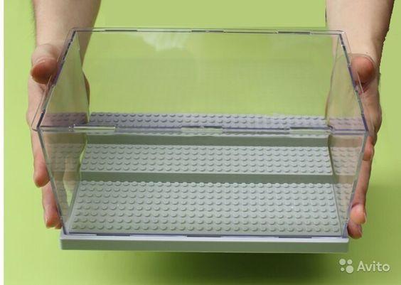 Бокс-витрина для хранения лего фигурок купить в Москве на Avito — Бокс для хранения примерно 40 минифигурок lego 26*15*13 см цвет светло-серый - 1700 руб.