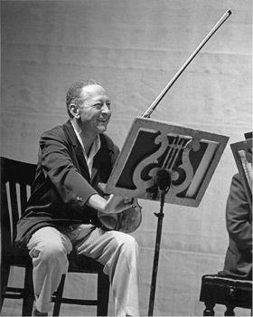Violinist Jascha Heifetz