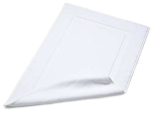 Luxury Hotel & Spa Towel 100% Genuine Turkish Cotton (Bath Mat, Set of 2) Soft Touch Linen $20 amazon