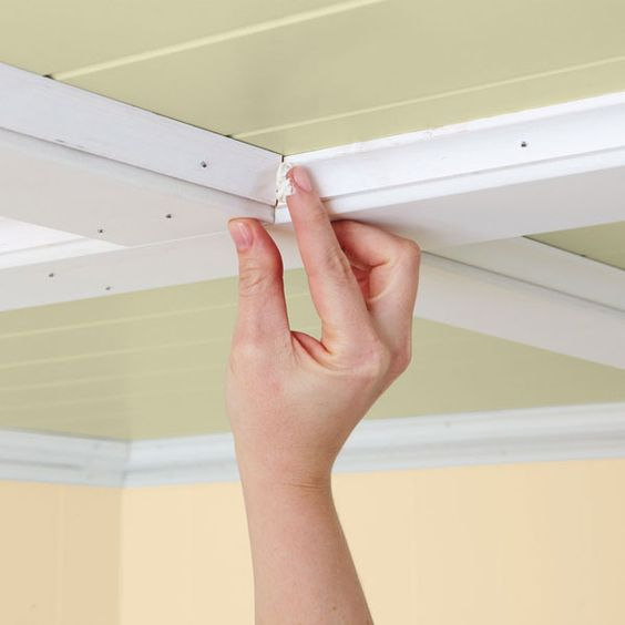 Kitchen ceilings, Ceilings and Nail holes on Pinterest