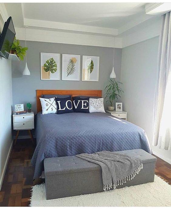 A #decoração de quartos pequenos