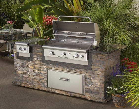 Outdoor Kitchen Construction: My Second Outdoor Kitchen |Outdoor Kitchen Freestanding Grill