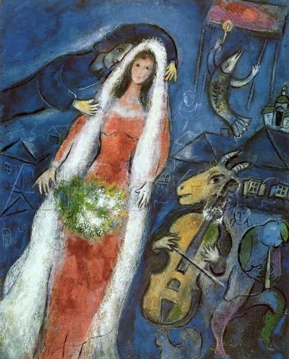 Marc Chagall, la marrie dans images e82696d0333c0d65197bed54e85a593b