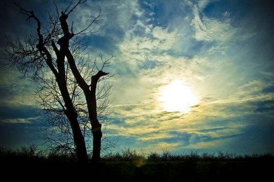 azure sky by bkitten1.deviantart.com on @deviantART