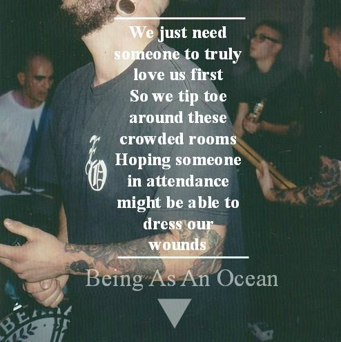 being as an ocean lyrics | Quotes & Lyrics | Pinterest ...